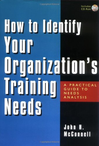 9780814407103: How to Identify Your Organization's Training Needs: A Practical Guide to Needs Analysis