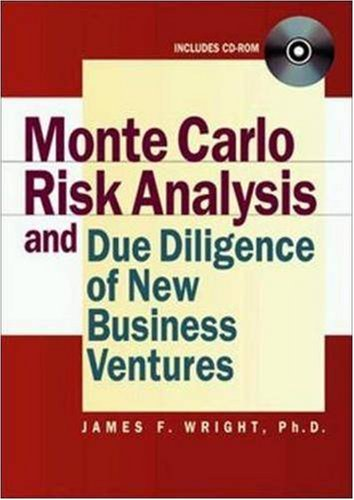 9780814407165: Monte Carlo Risk Analysis and Due Diligence of New Business Ventures (With CD-ROM)