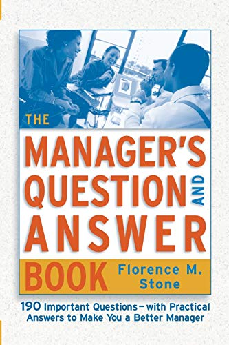 9780814407585: The Manager's Question and Answer Book
