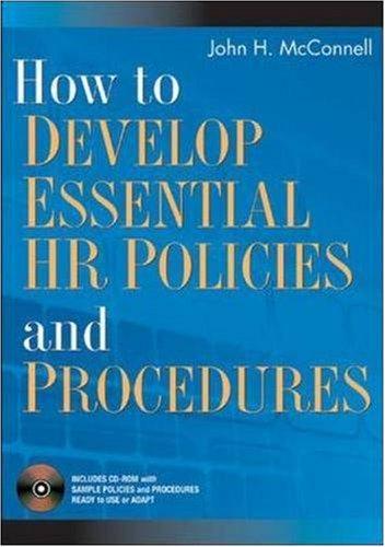 hr policies and procedures pdf