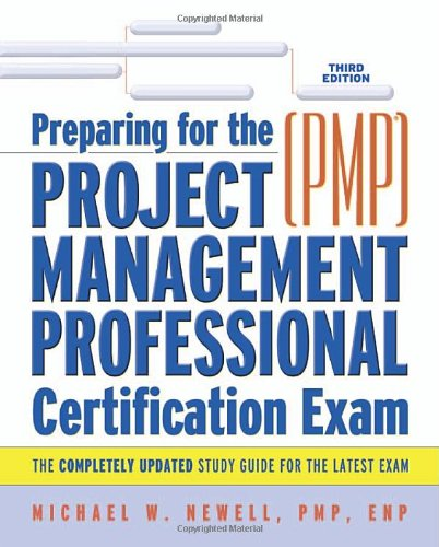 9780814408599: Preparing For The Project Management Professional (PMP) Certification Exam(pmp