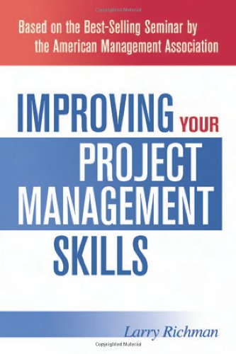 9780814408759: Improving Your Project Management Skills