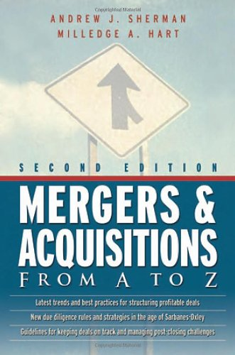 9780814408803: Mergers and Acquisitions From A to Z