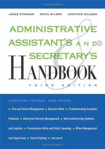 9780814409138: Administrative Assistant's and Secretary's Handbook
