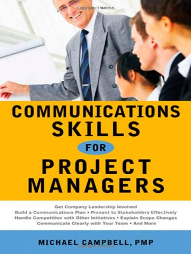 9780814410530: Communications Skills for Project Managers