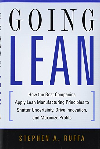 9780814410578: Going Lean: How the Best Companies Apply Lean Manufacturing Principles to Shatter Uncertainty, Drive Innovation
