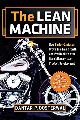 9780814413784: The Lean Machine: How Harley-Davidson Drove Top-Line Growth and Profitability with Revolutionary Lean Product Development