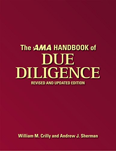 9780814413821: The AMA Handbook of Due Diligence