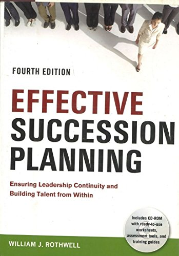 9780814414163: Effective Succession Planning: Ensuring Leadership Continuity and Building Talent from Within
