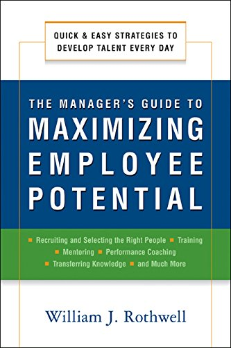 9780814414309: The Manager's Guide to Maximizing Employee Potential: Quick and Easy Strategies to Develop Talent Every Day