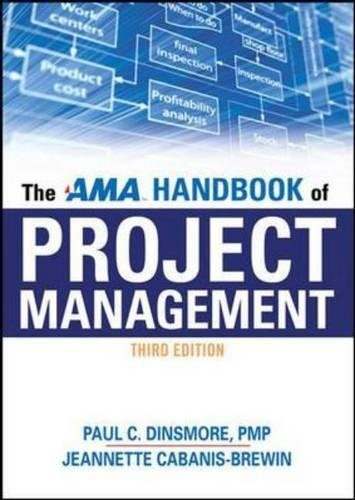9780814415429: The AMA Handbook of Project Management