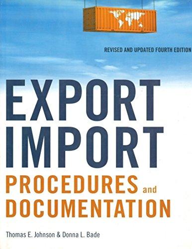 9780814415504: Export/Import Procedures and Documentation