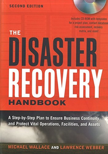 9780814416136: The Disaster Recovery Handbook: A Step-by-Step Plan to Ensure Business Continuity and Protect Vital Operations, Facilities, and Assets