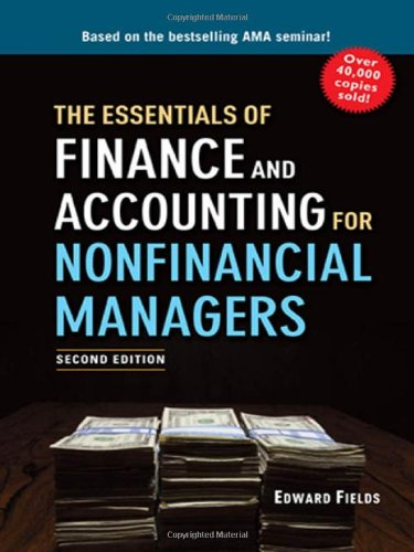 9780814416242: The Essentials of Finance and Accounting for Nonfinancial Managers