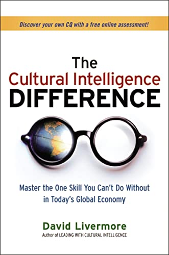 9780814417065: The Cultural Intelligence Difference: Master the One Skill You Can't Do Without in Today's Global Economy