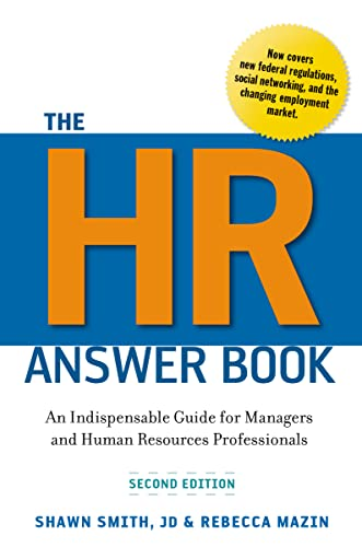 9780814417171: The Hr Answer Book: An Indispensable Guide for Managers and Human Resources Professionals