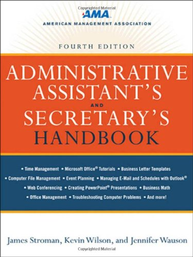 9780814417607: Administrative Assistant's and Secretary's Handbook