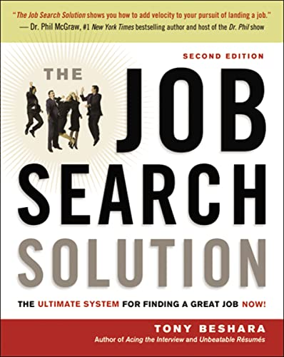 9780814417997: The Job Search Solution: The Ultimate System for Finding a Great Job Now!