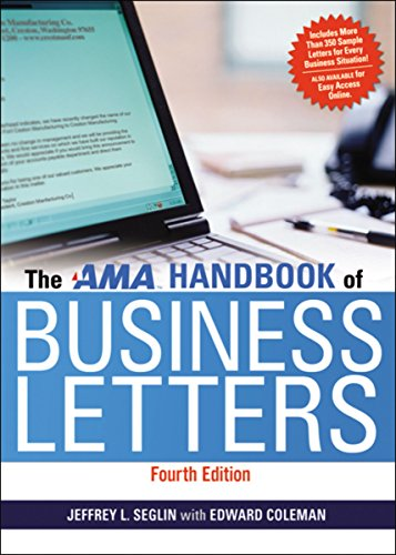 9780814420126: The AMA Handbook of Business Letters