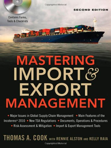Mastering Import & Export Management (9780814420263) by Thomas A. Cook; Rennie Alston; Kelly Raia