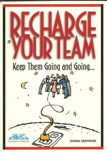 Recharge your team. Keep them going and going.