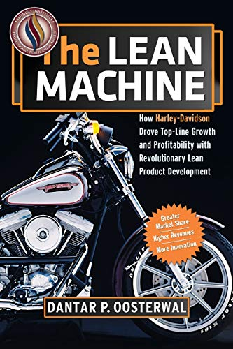 9780814432884: The Lean Machine: How Harley-Davidson Drove Top-Line Growth and Profitability With Revolutionary Lean Product Development