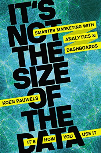 9780814433959: It's Not the Size of the Data - It's How You Use It: Smarter Marketing With Analytics and Dashboards