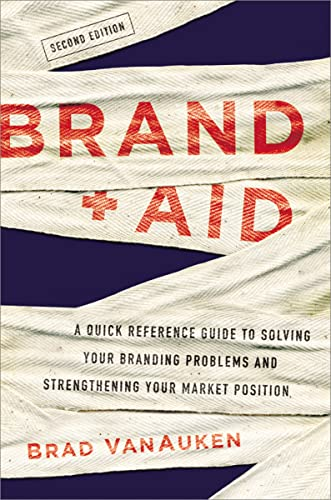 9780814434734: Brand Aid: A Quick Reference Guide to Solving Your Branding Problems and Strengthening Your Market Position
