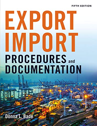 9780814434758: Export/Import Procedures and Documentation