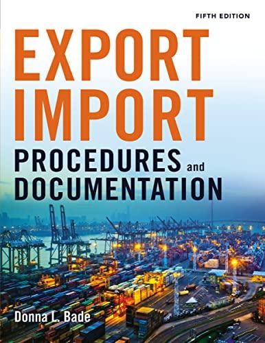 9780814434758: Export/Import Procedures and Documentation