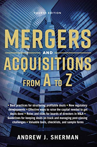 9780814439029: Mergers and Acquisitions from A to Z