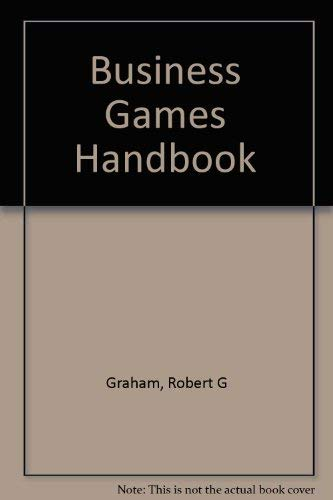 9780814451830: Business Games Handbook