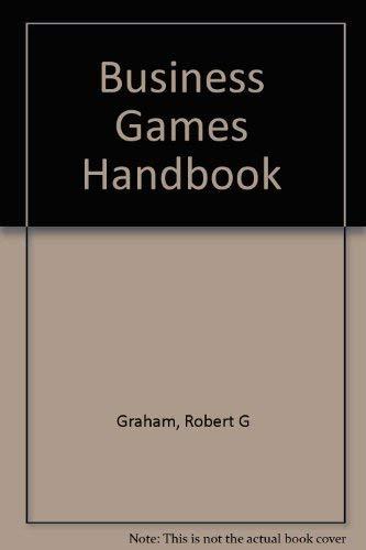 9780814451830: Business games handbook
