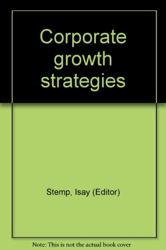Corporate Growth Strategies.