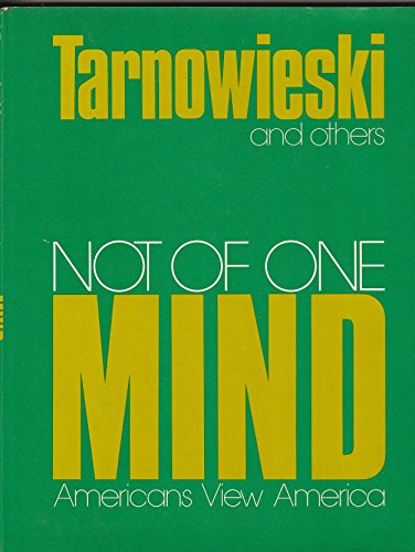 Not of One Mind: Tarnowieski, D.