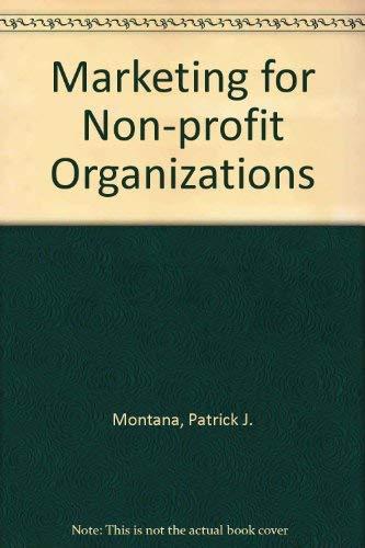 Marketing in Nonprofit Organizations