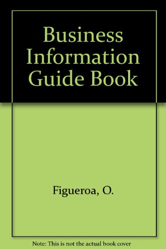 9780814455609: Business Information Guide Book