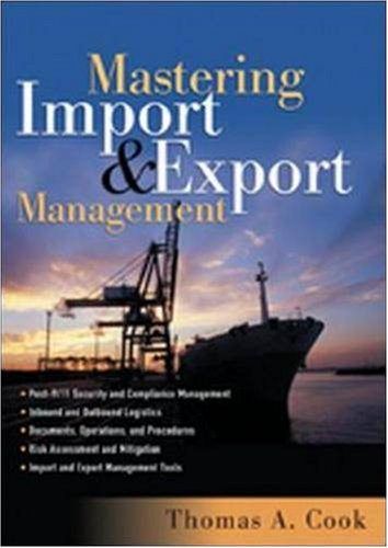 Mastering Import and Export Management (9780814472033) by Thomas A. Cook; Rennie Alston; Kelly Raia
