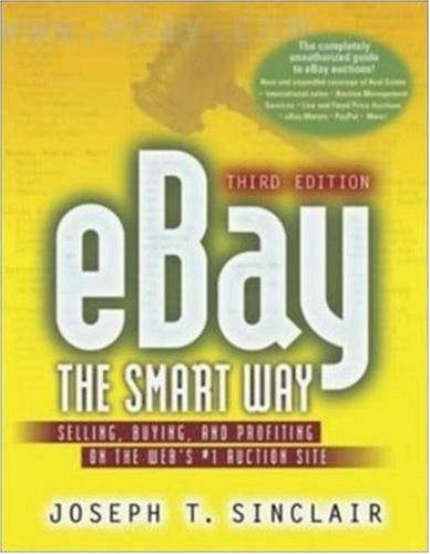 9780814472040: Ebay the Smart Way: Selling, Buying, and Profiting on the Web's #1 Auction Site, Third Edition