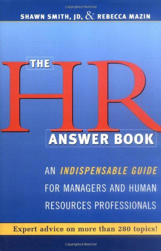9780814472231: HR Answer Book, The: An Indispensable Guide for Managers and Human Resources Professionals