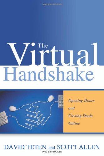 9780814472866: The Virtual Handshake: Opening Doors and Closing Deals Online