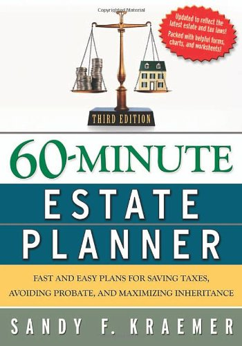 9780814473054: 60-Minute Estate Planner: Fast and Easy Plans for Saving Taxes, Avoiding Probate, and Maximizing Inheritance (Sixty Minute Estate Planner)