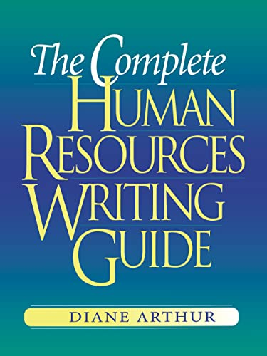 9780814473092: The Complete Human Resources Writing Guide