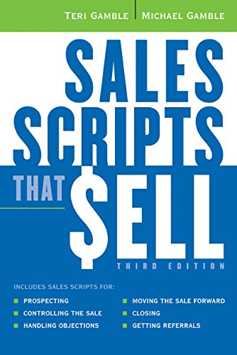9780814474211: Sales Scripts That Sell