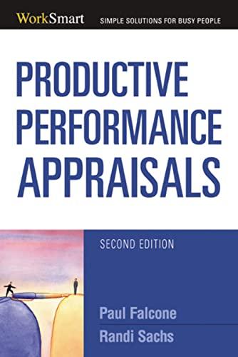 9780814474228: Productive Performance Appraisals (Worksmart Series)