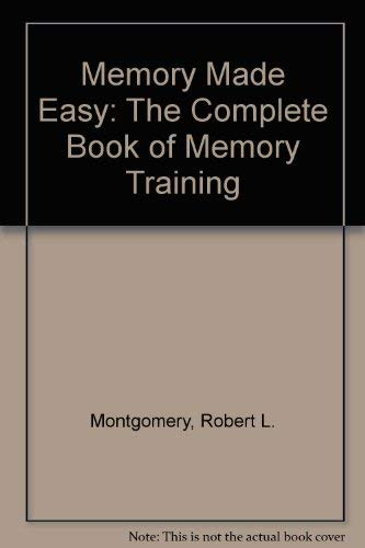 9780814475485: Memory Made Easy: The Complete Book of Memory Training