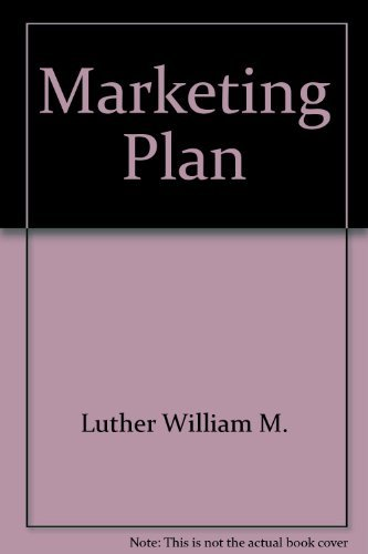 9780814476239: Marketing Plan