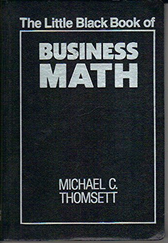 9780814476918: The Little Black Book of Business Math