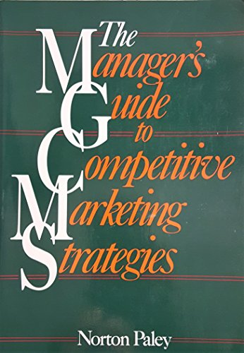 9780814477489: Manager's Guide to Competitive Marketing Strategies
