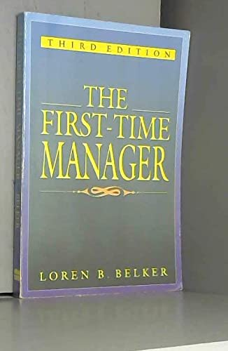 9780814478028: The First-Time Manager